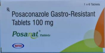 Buy Posanat Online | Natco Posaconazole 100 mg Tablet in Ukraine