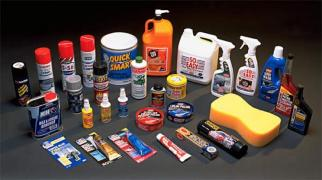 Car chemistry, car cosmetics for detailing and car wash equipment