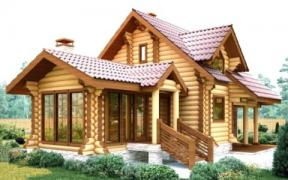 Framehouses timber construction