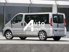 Installation of auto glass for Renault Trafic, Opel Vivaro, Nissan Prim