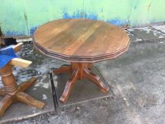 Мебель из Европы , диваны кожа б/у, столы дерево, уголки недорого