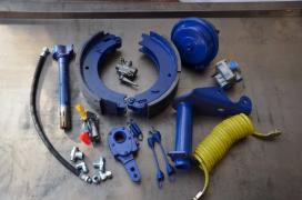 Набор тормозов тракторного прицепа 2ПТС-4, 2ПТС-9, ПТС-6, 3ПТС-1
