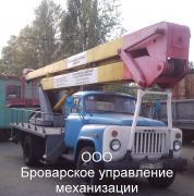 Оренда автовишки Бровари Київська область
