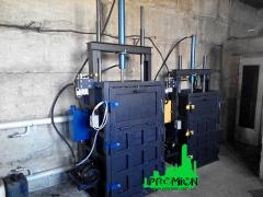Пресс для макулатуры и ПЭТ бутылки гидравлический на 5 тонн