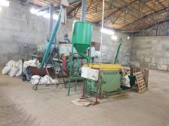 shop on processing grain and oil crops