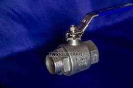 Stainless steel valve with external thread DN 15 (1/2) AISI 304