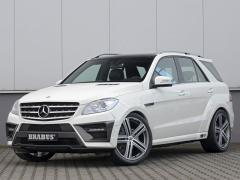 Tuning External Original Brabus body kit for Mercedes-Benz ML-class (W166)