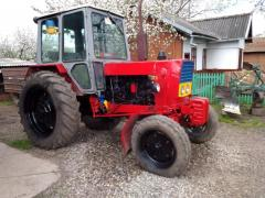 YuMZ tractor is in good condition